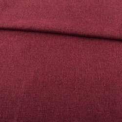Рогожка деко бордовая ш.150