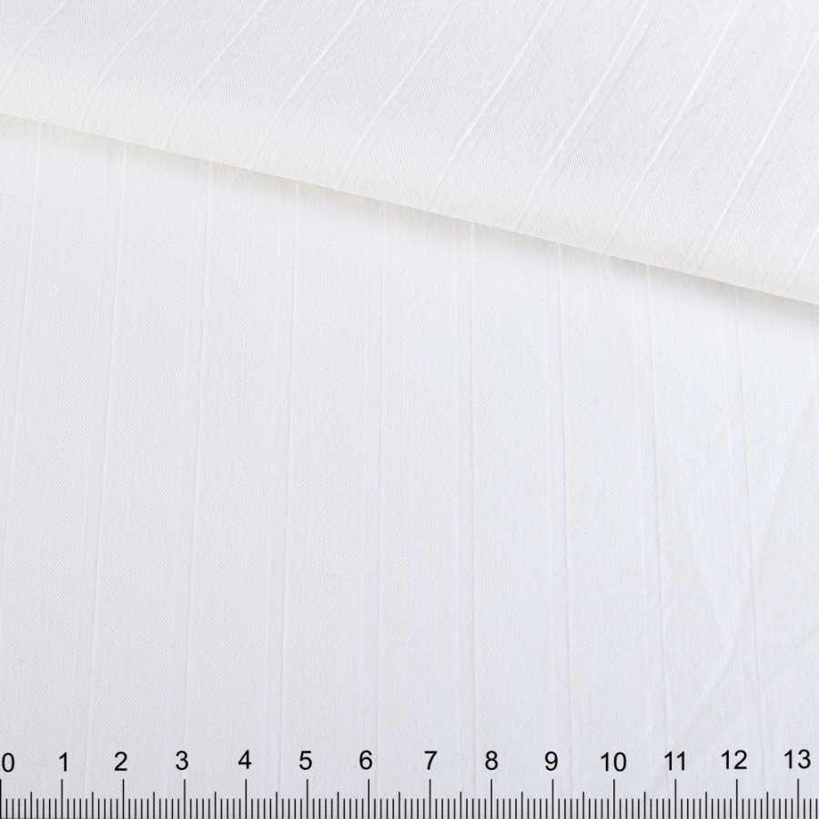 Коттон отбеленный в структурную полоску ш.150