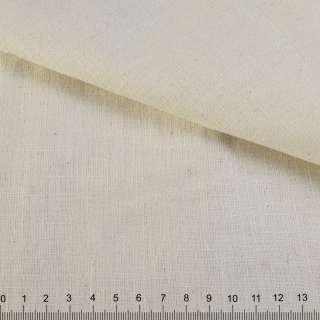 Лен неотбеленный молочно-бежевый ш.155