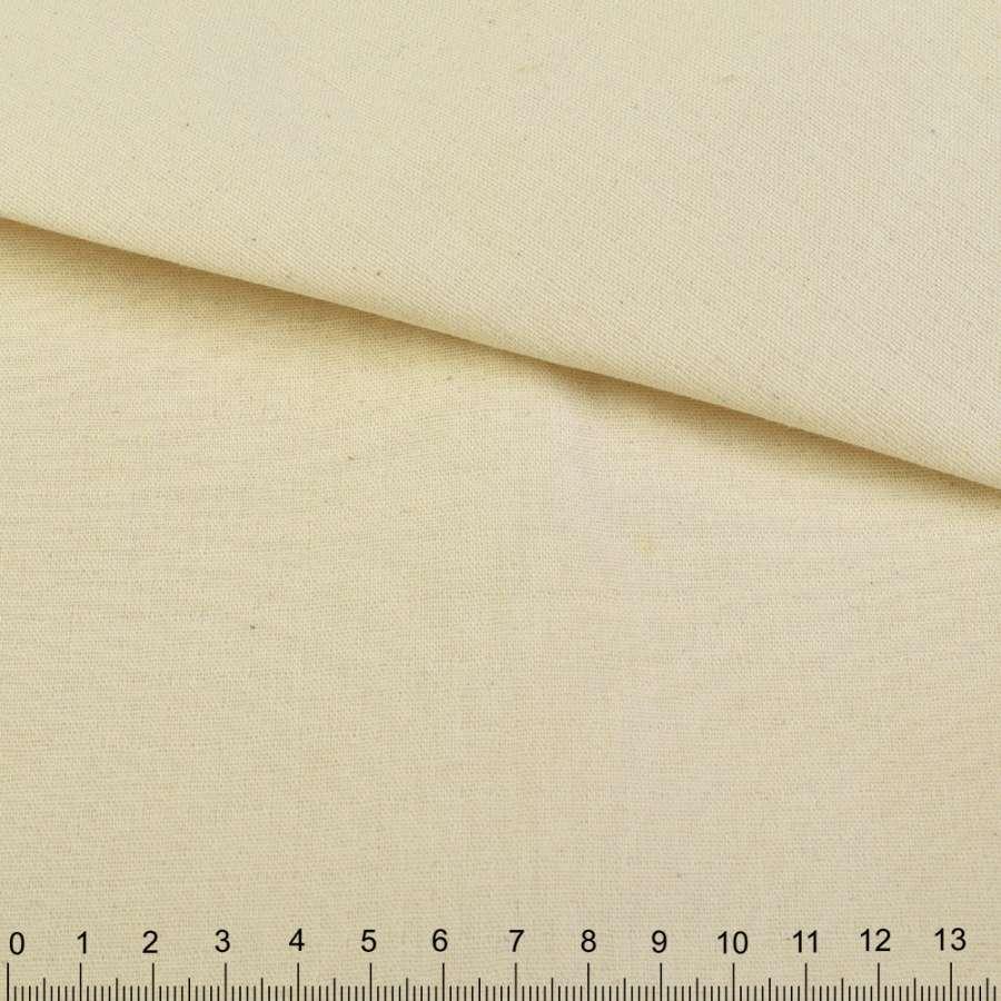 Коттон двухсторонний кремовый ш.158