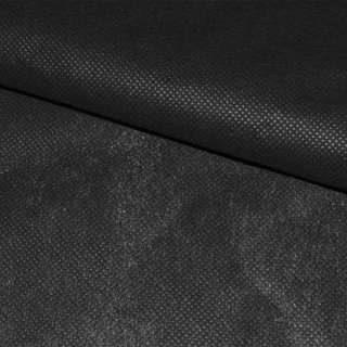 Флизелин неклеевой (спанбонд) черный, плотность 40, ш.150
