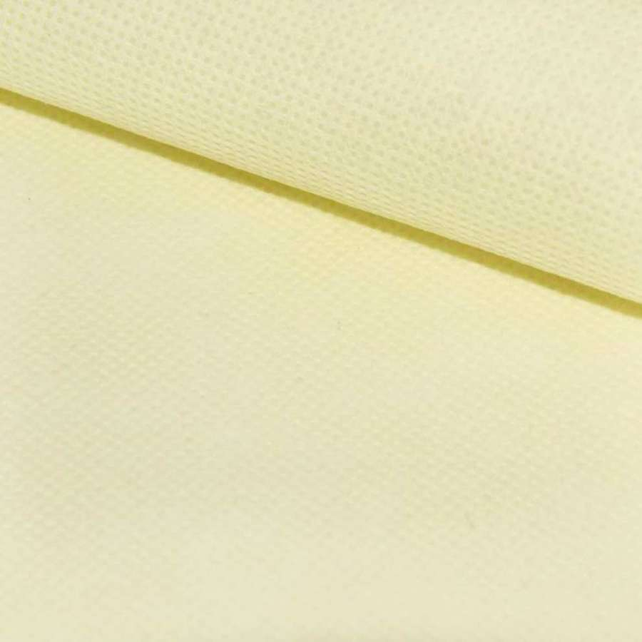 Флізелін неклеевой (спанбонд) кремовий, щільність 60, ш.160