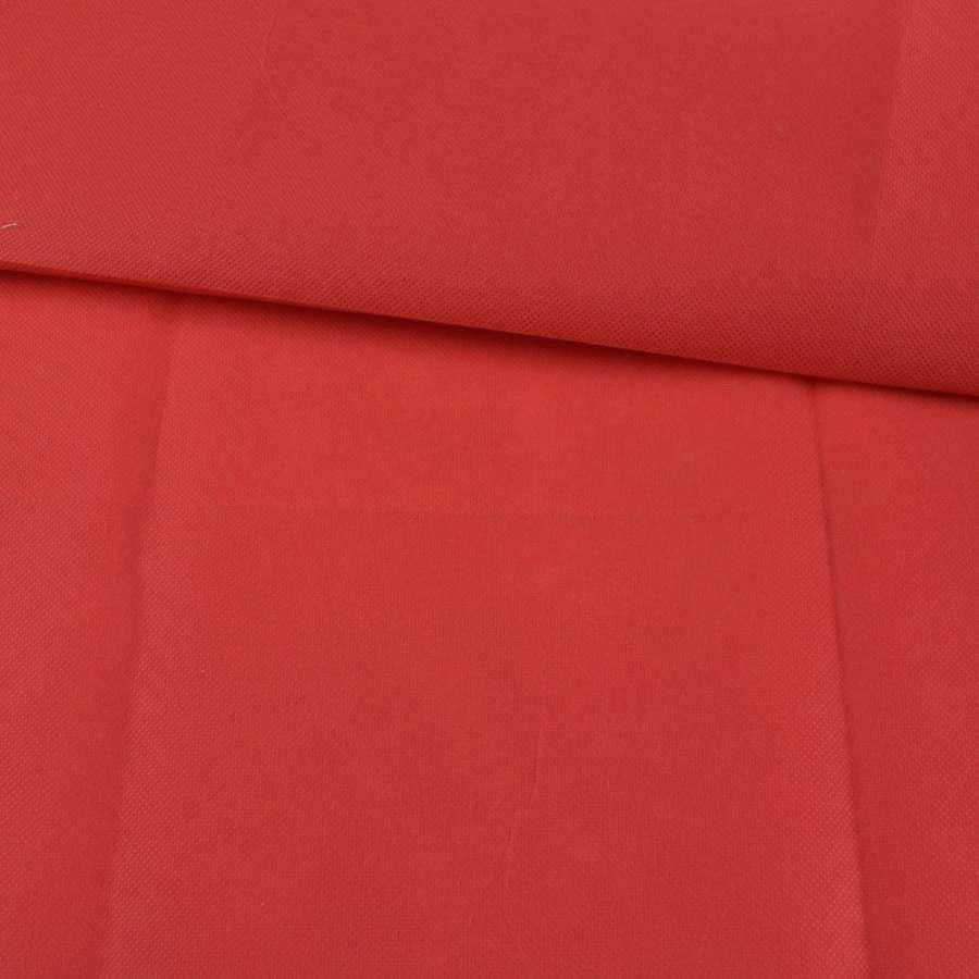 Флізелін неклеевой (спанбонд) червоний, щільність 70, ш.160