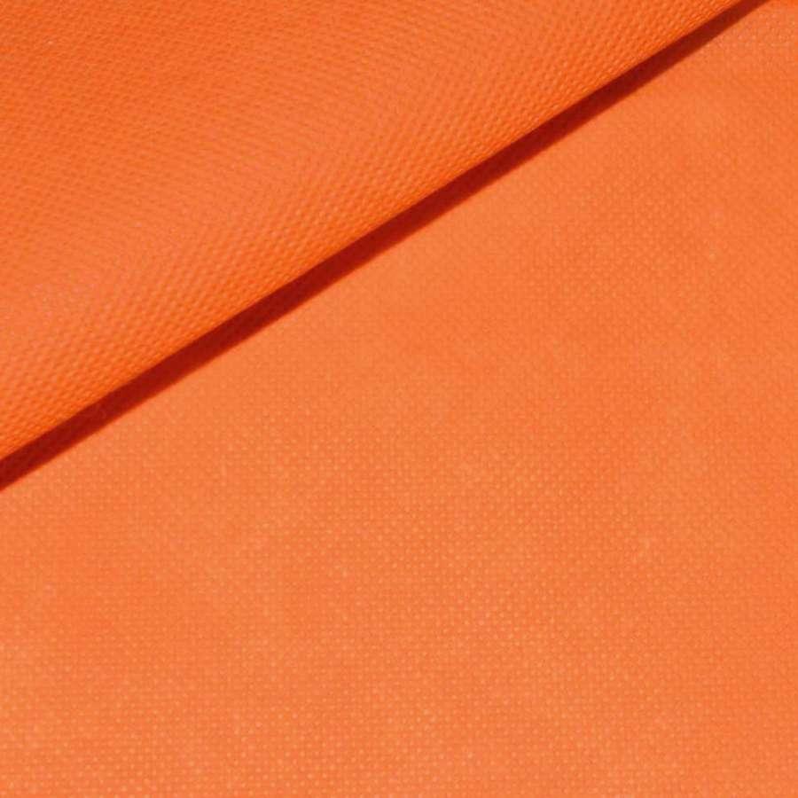 Флізелін неклеевой (спанбонд) помаранчевий, щільність 70, ш.160