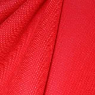 Флизелин неклеевой (спанбонд) ярко-красный, плотность 80, ш.160