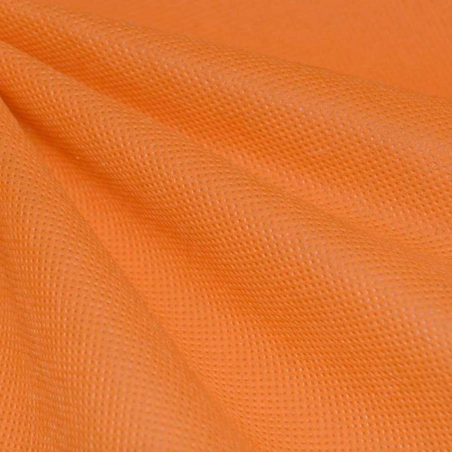 флизелин неклеевой оранжевый оттенок (плотн.80) ш.160