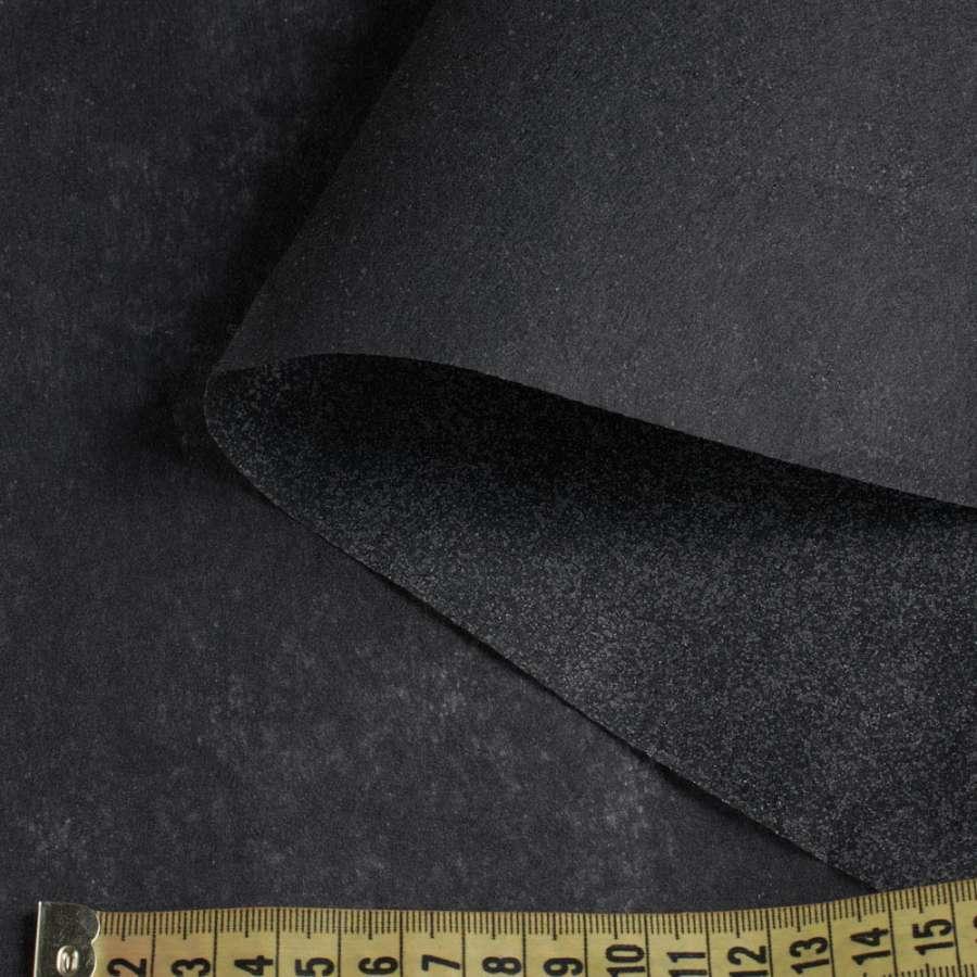флизелин черный клеевой 1050