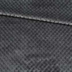 Плюш минки односторонний серый, ш.170