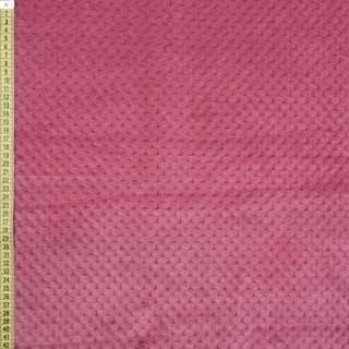 Плюш Минки односторонній рожево-бузковий, ш.185