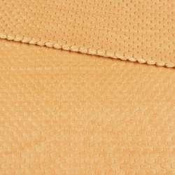 Плюш минки односторонний палевый, ш.180