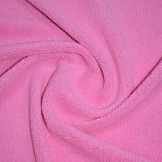 Велсофт-махра одностор. ярко розовая ш.205