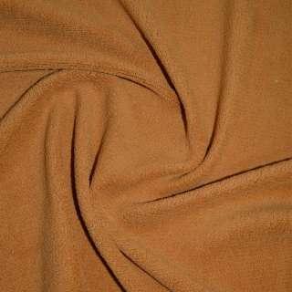 Велсофт-махра одностор. рыже коричневая ш.205