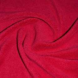 Велсофт-махра односторонняя красная
