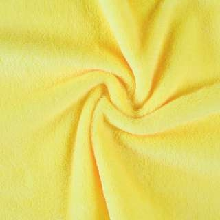 Велсофт (махра) двухсторонний желтый (солнечный) ш.170