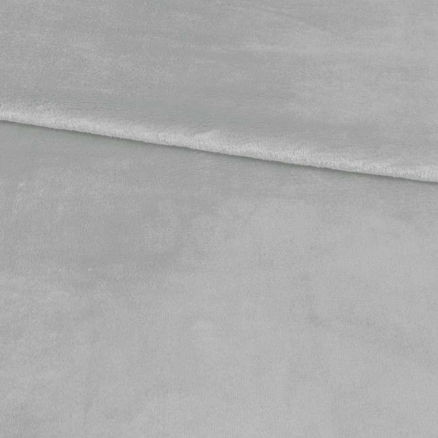 Велсофт двухсторонний серый светлый ш.230