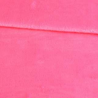 Велсофт двухсторонний розовый яркий, ш.180