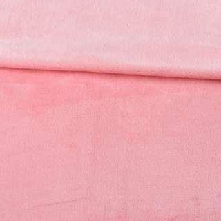Велсофт двухсторонний розовый чайная роза, ш.185