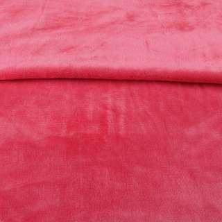 Велсофт двухсторонний розовый темный, ш.180