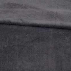 Велсофт двосторонній сірий темний ш.180