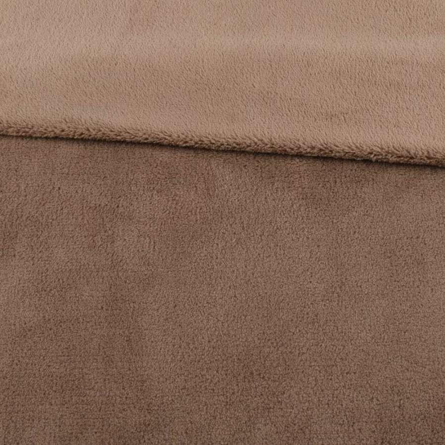 Велсофт двосторонній бежево-коричневий, ш.180