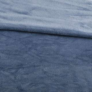 Велсофт двухсторонний сине-серый, ш.185