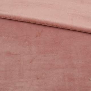 Велсофт двухсторонний розово-бежевый ш.185