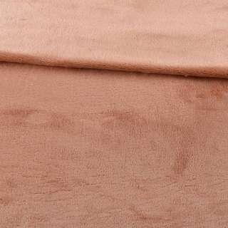 Велсофт двосторонній бежевий з рожевим відливом, ш.200