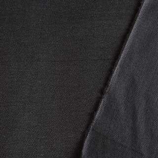 """Дублерин черно-серый стрейч """"KUFNER"""", ш.90"""