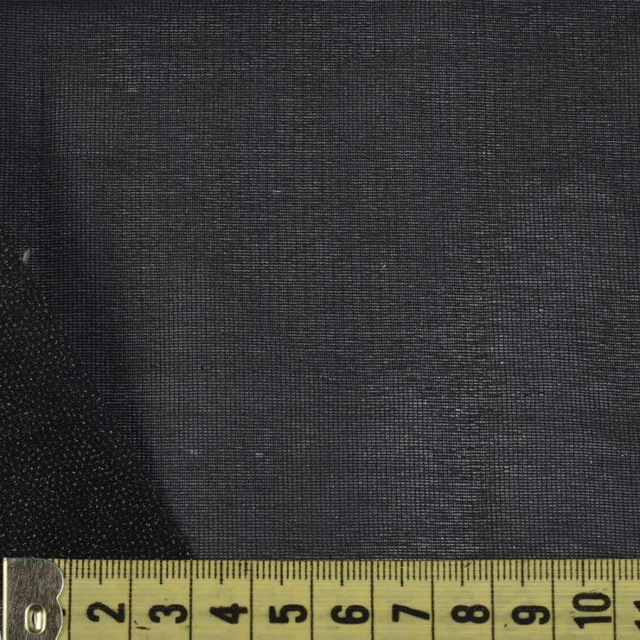 """Дублерин черный тонкий стрейч """"KUFNER"""", ш.90"""