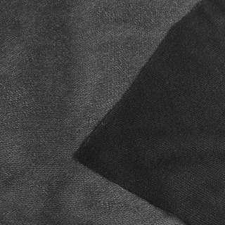 """Дублерин трикотажный черный тонкий хлопковый """"KUFNER"""", ш.150"""