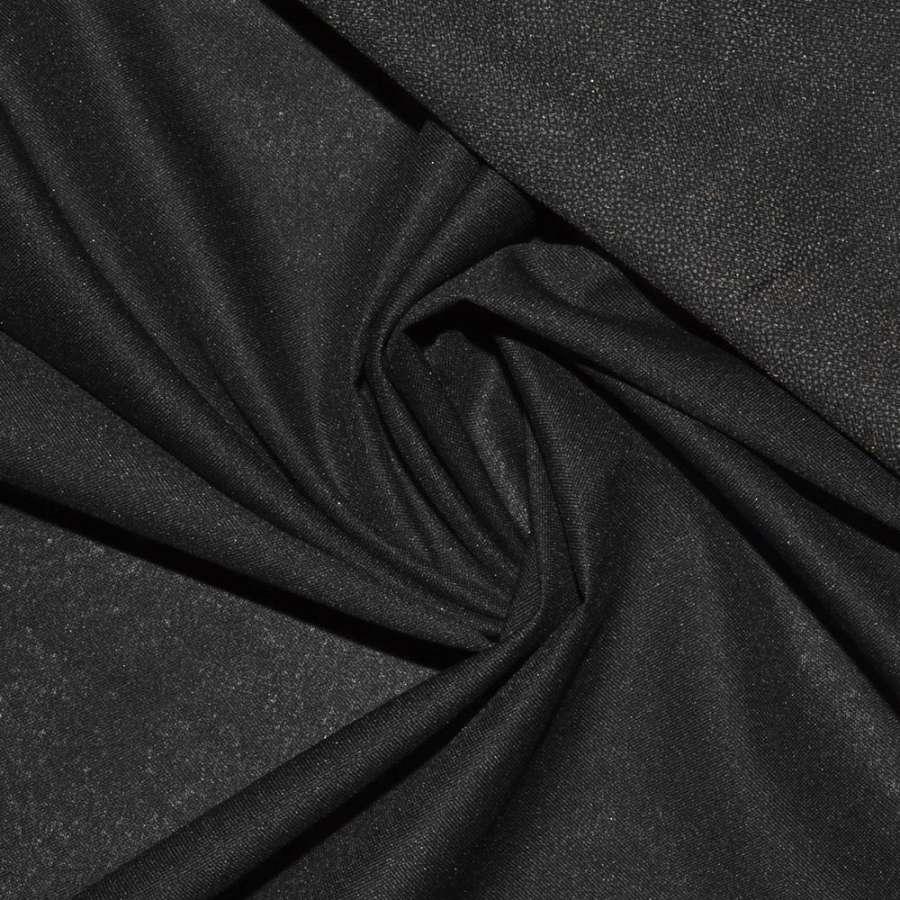 дублерин черный в серые точки ш.150