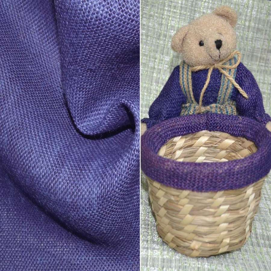 Портьєрні. рогожка фіолетовий