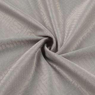 Жаккард скатертный лабиринт серый светлый, ш.320