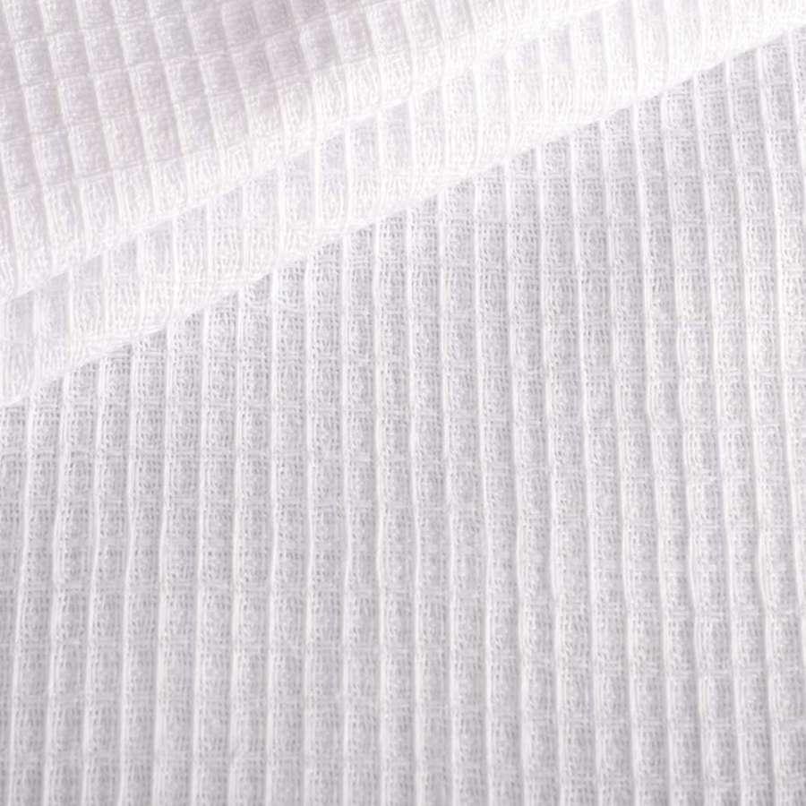 Ткань полотенечная вафельная отбеленная ш.45