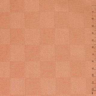"""тканину Скатерна теракотово-рожева """"шахматка"""", ш.140"""