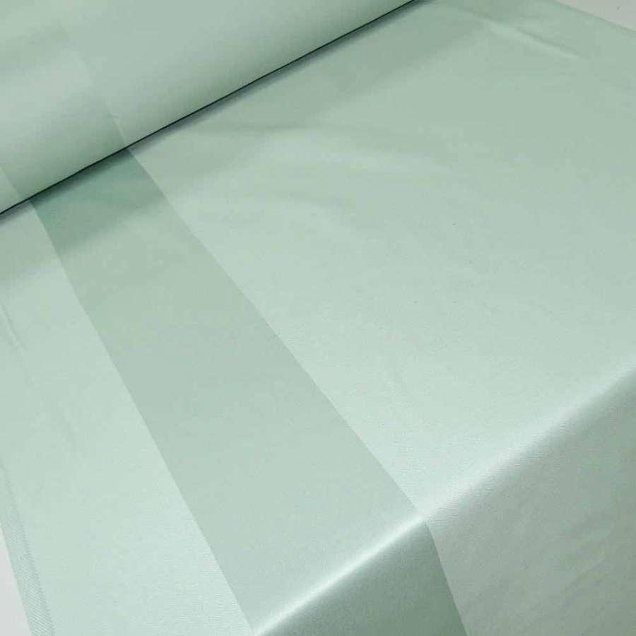 Ткань скатертная бирюзовая с 2-ст. полосками ш.140