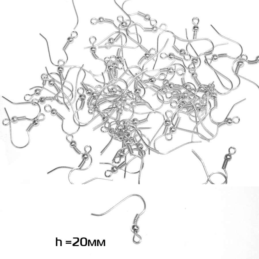 основание для сережки (швензы) белое