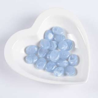 Бусина акрилова мармур блакитна 15х20мм (ціна за 1 г)