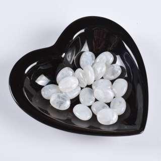 Бусина акрил белая 15х20мм (цена за 1г)