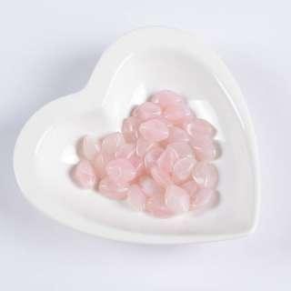 Бусина акрил розовая 13х16мм (цена за 1г)