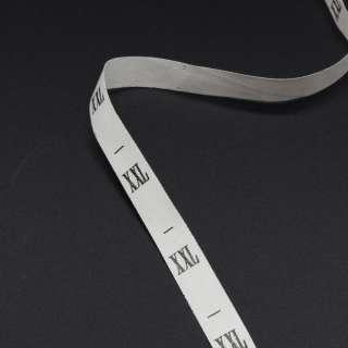 Размерник  XXL белый