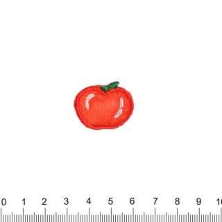 аплікація Яблуко, вишивка, 2х3см