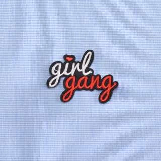 Аппликация клеевая GIRL GANG, 60х40мм