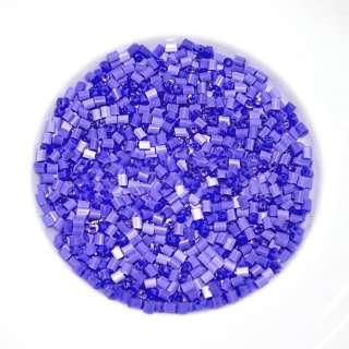 бісер фіолетовий