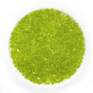 бисер салатовый