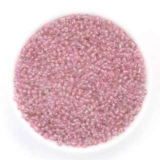 бісер рожевий хамів.