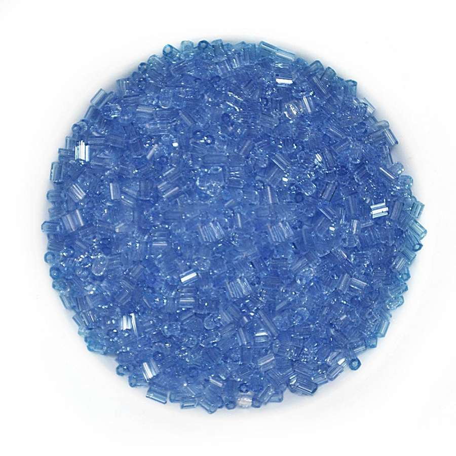 бисер голубой