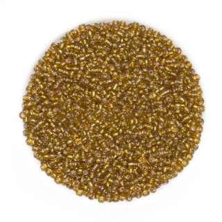 Бисер золотисто-коричневый