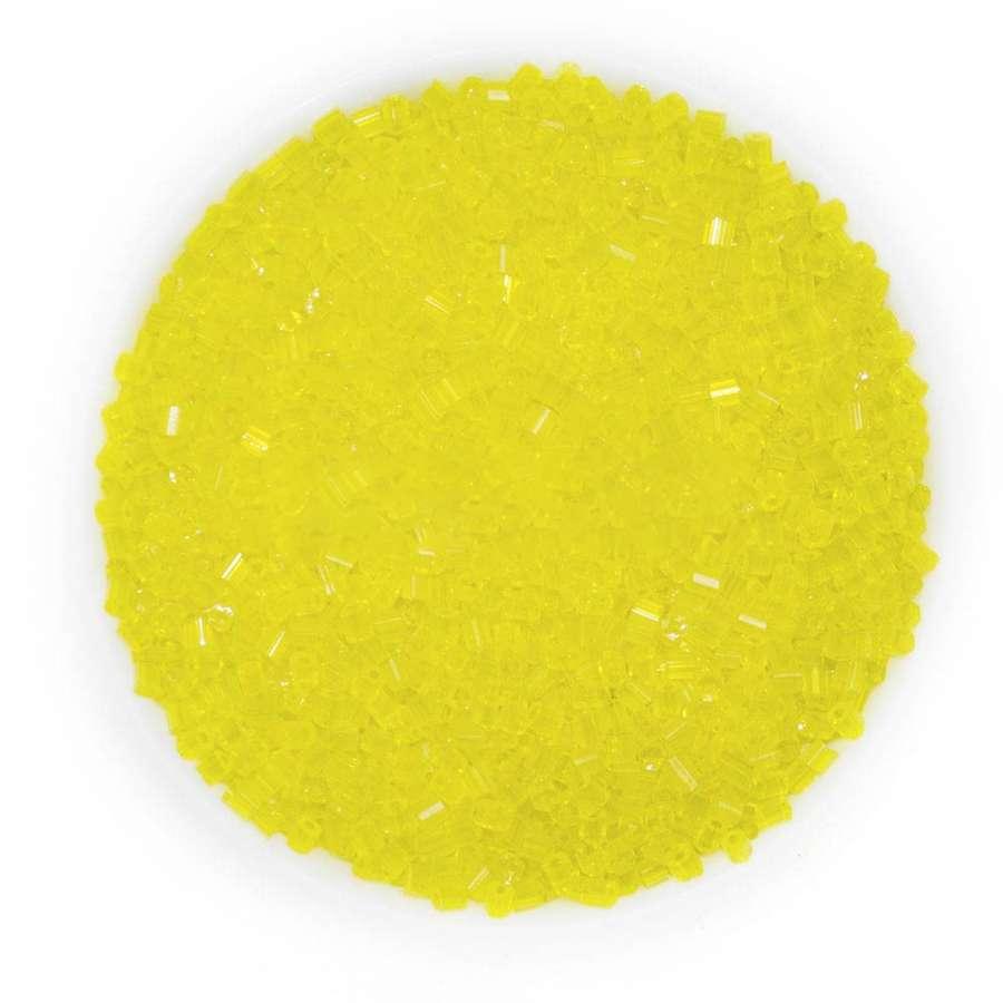бисер желтый
