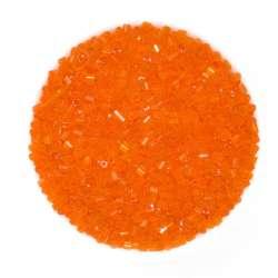 бисер оранжевый